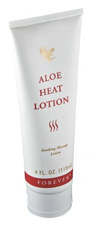 ALOE HEAT LOTION forever living nhcs
